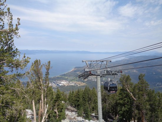 The Gondola at Heavenly : view from the first stop of gondola ride