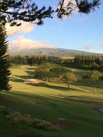The Kapalua Villas, Maui: golf course view