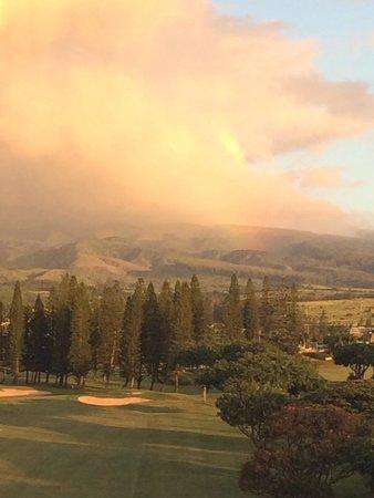 The Kapalua Villas, Maui: rainbow over Kapalua