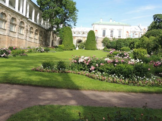 Catherine Palace and Park: The Gardens just outside of Catherine's retreat