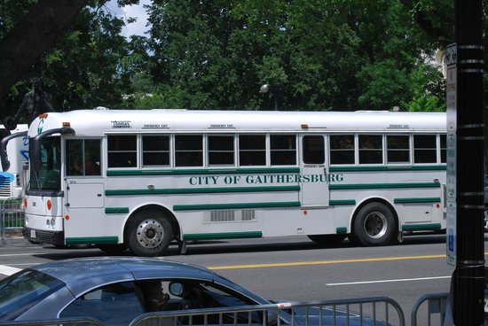 National Mall (The Mall): Bus for Gettysburg City