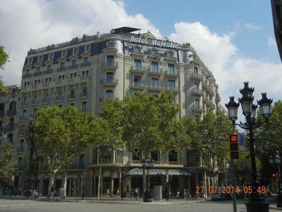 Majestic Hotel & Spa Barcelona: Hotel Majestic