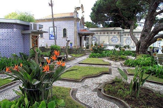 Castelo de Santa Catarina: inner garden