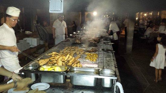 Sa Farinera: The grill