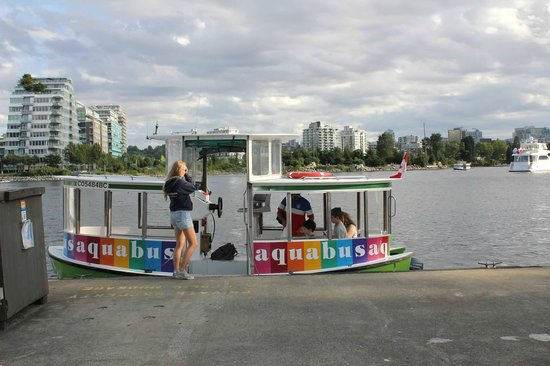 Ferry to Granville Island