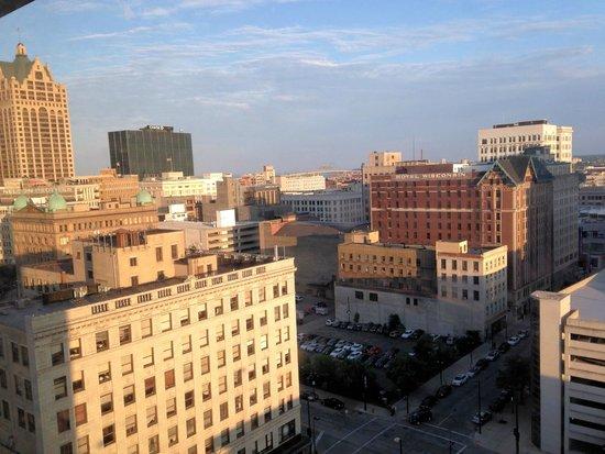 Hyatt Regency Milwaukee: View from the room