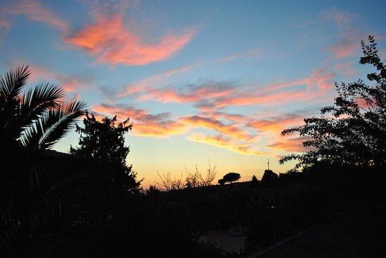 B&B Villa Roberta : Tramonto dal B&B