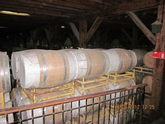 Santa Rita Winery: Barricas - Viña Santa Rita