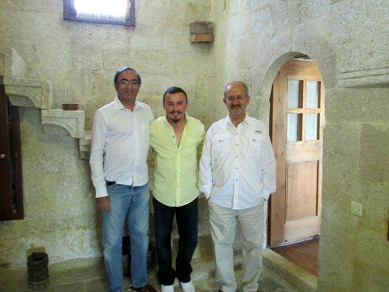 Esbelli Evi Cave Hotel: Guest, Tarik, Suha