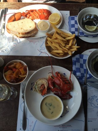 Hotel New York: Lobster it is!!