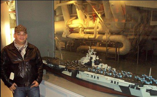 Intrepid Sea, Air & Space Museum: under ship