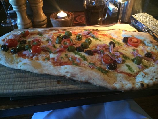 The Bulls Head: The Tuscany pizza!!