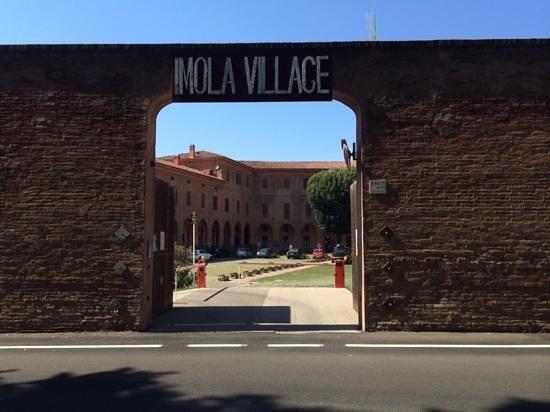ImolaVillage : imola village car park entry