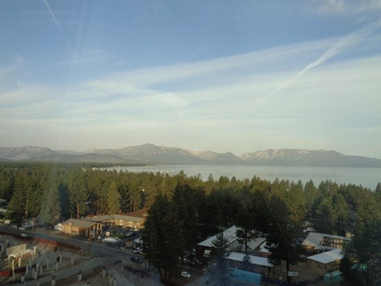 Harveys Lake Tahoe: view from our room on 15th floor