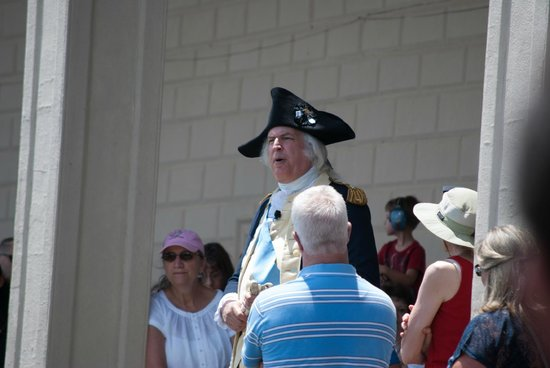 George Washington's Mount Vernon: Nice speech about what happened on 4th of July