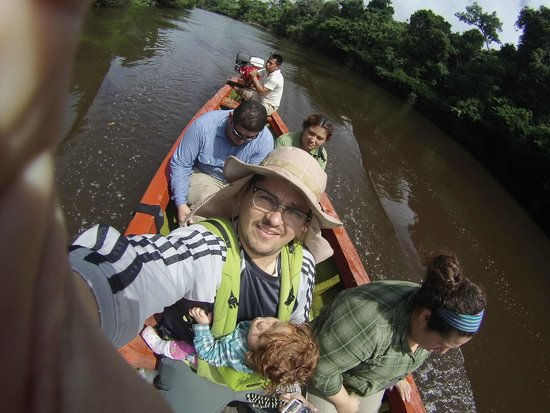 Libertad Jungle Lodge : View from the boat