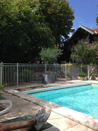 Hotel le Chalet Fleuri : Refreshing pool