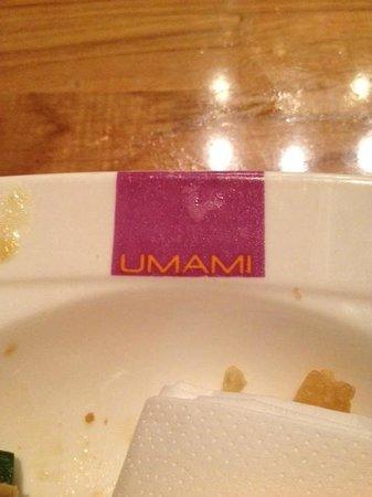 Umami Amsterdam: het Umami servies