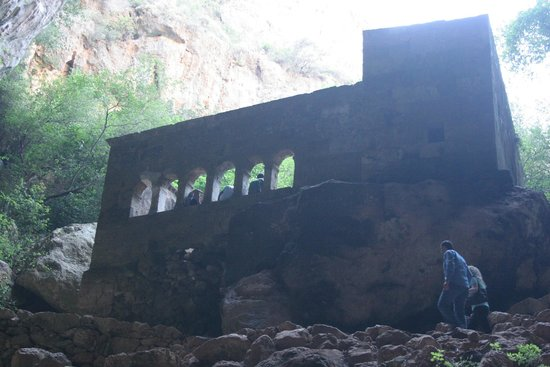 KIzkalesi, ตุรกี: Meryem Ana Kilisesi (Cennet Obruğu)