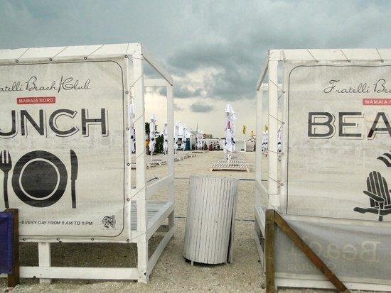 Mamaia Beach: Fratelli's