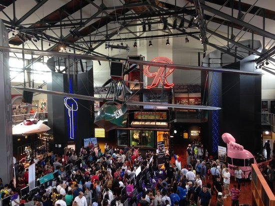 Museum of History & Industry: View from the 2nd floor