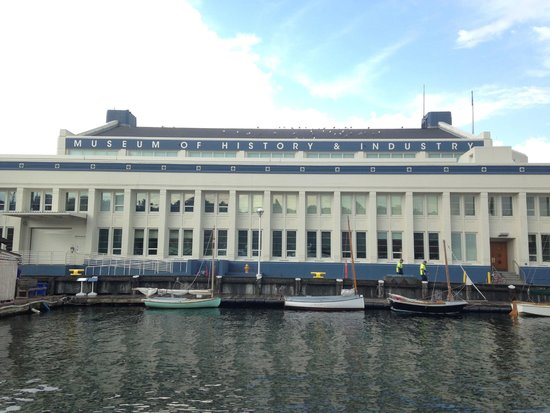 Museum of History & Industry: MOHAI from the rear