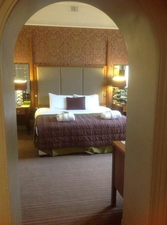 The Majestic Hotel: Our room