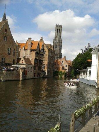 Hotel Montanus: Classic view of Bruges