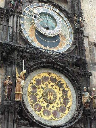 The Naked Tour Guide: Astronomical Clock