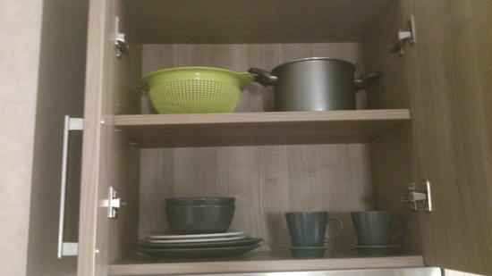 Aparthotel Silver: Cocina
