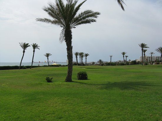 Nour Palace Resort: Pole golfowe