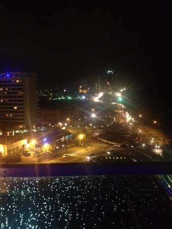 The Kingsbury: From the Sky Lounge view at night
