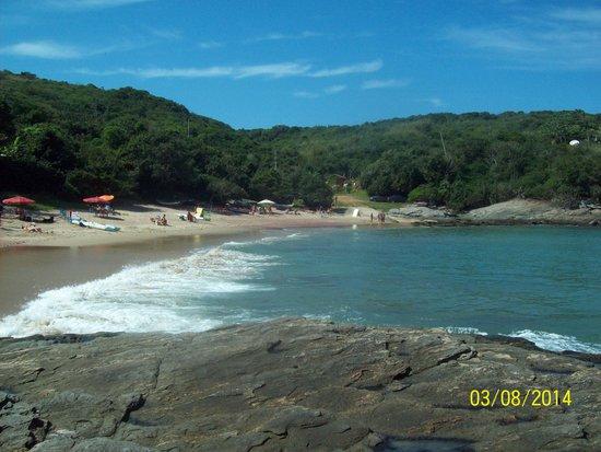 Forno Beach : Vista praia
