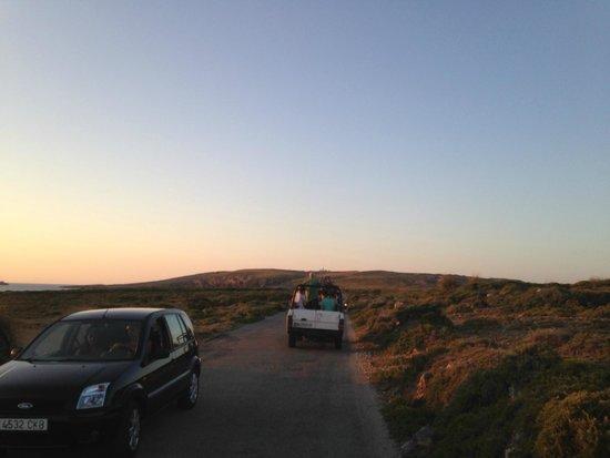 Jeep Safari Menorca : il tramonto a Punta di Cavalleria
