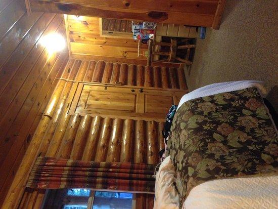 Hatchet Resort: View of room
