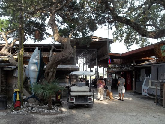 The Crab Shack, Tybee Island, entrance