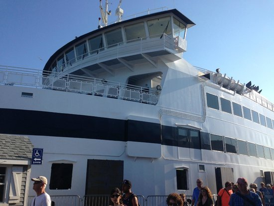 The Steamship Authority - Martha's Vineyard: Ferry heading to Vineyard Haven, MA