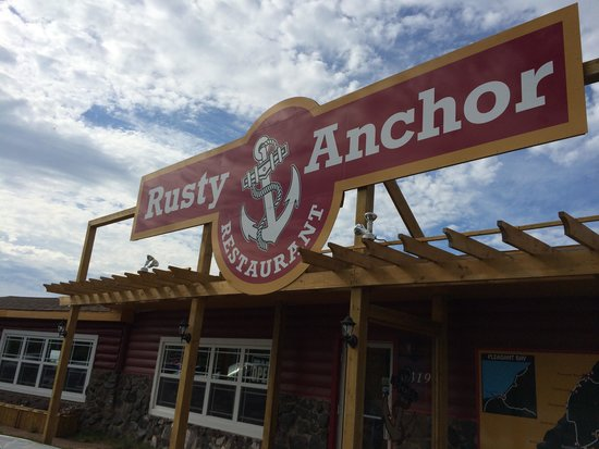 Rusty Anchor Restaurant: So worth your stop, right on the Cabot Trail!
