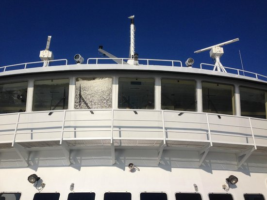 The Steamship Authority - Martha's Vineyard: Ferry once we got on it!