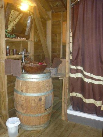West Indies Cottage: salle de bain