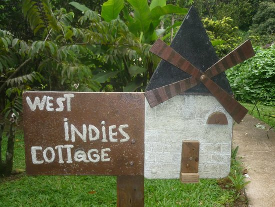 West Indies Cottage : entrée