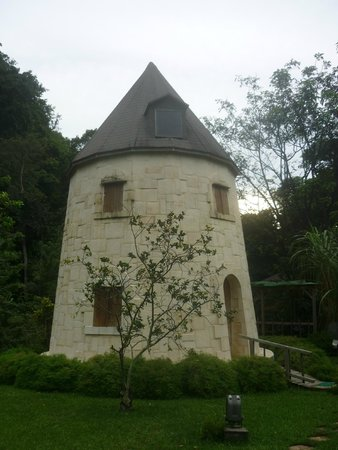 West Indies Cottage : le moulin