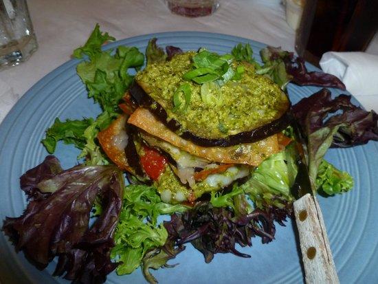 Dajio : Eggplant napoleon