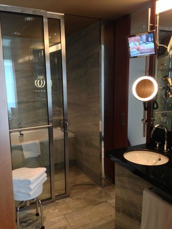 Grand Hyatt Berlin: the bathroom