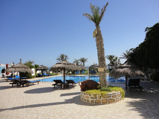 Hotel Dar El Bhar: Espace piscine