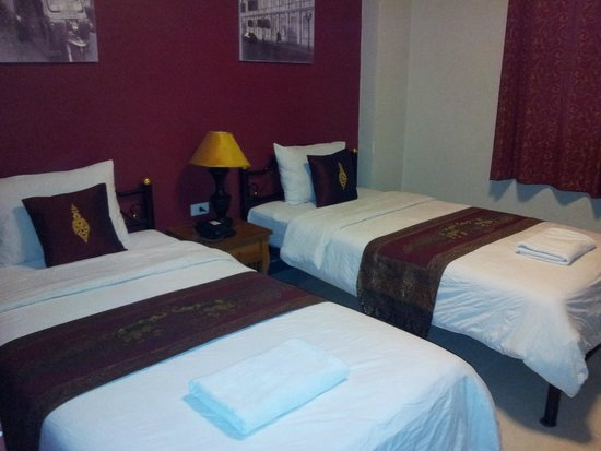Khaosan Palace Hotel: Twin Room