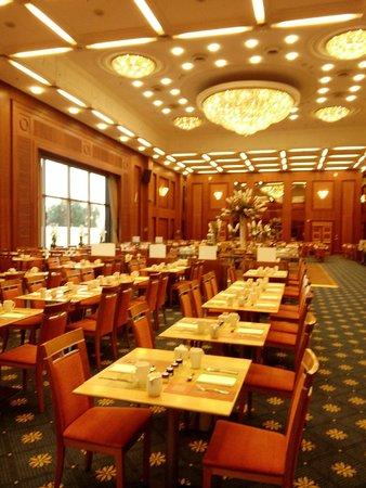 Hilton Prague : Salle de déjeuner