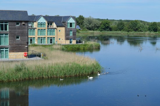 De Vere Cotswold Water Park: View from our room