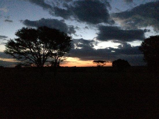 Sayari Camp, Asilia Africa : Sunset over the Serengeti