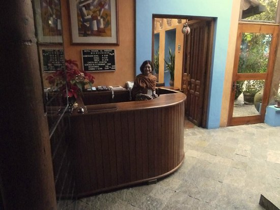 Hotel Posada El Paraiso: Accueil